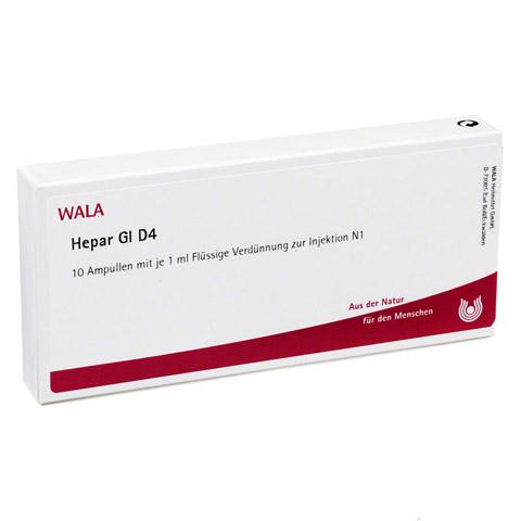 HEPAR GL D 4 Ampullen 10x1 Milliliter N1