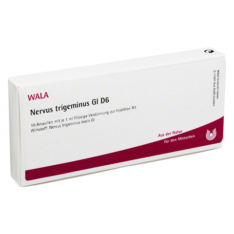 NERVUS TRIGEMINUS GL D 6 Ampullen 10x1 Milliliter N1