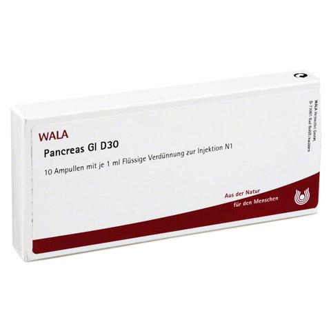 PANCREAS GL D 30 Ampullen 10x1 Milliliter N1