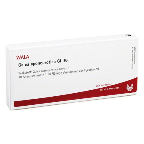 GALEA aponeurotica GL D 6 Ampullen 10x1 Milliliter N1