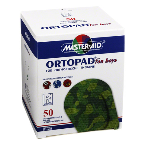 ORTOPAD for boys regular Augenokklusionspflaster 50 Stück