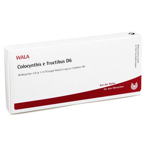 COLOCYNTHIS E fructibus D 6 Ampullen 10x1 Milliliter N1