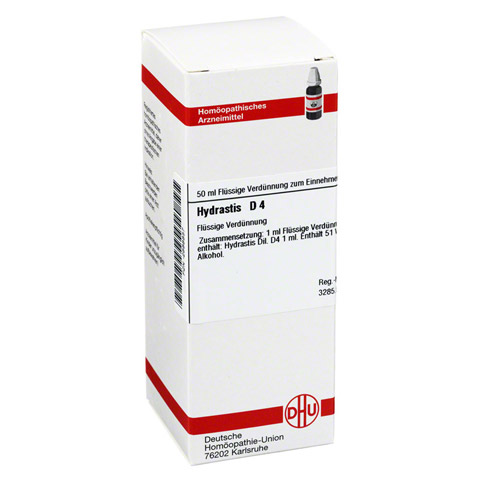 HYDRASTIS D 4 Dilution 50 Milliliter N1
