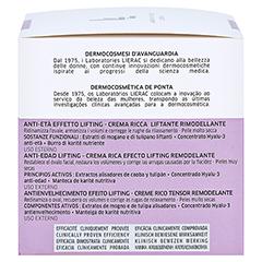 LIERAC LIFT INTEGRAL nutri Creme 50 Milliliter - Rechte Seite
