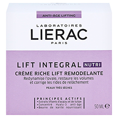 LIERAC LIFT INTEGRAL nutri Creme 50 Milliliter - Rückseite