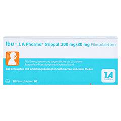 Ibu-1A Pharma Grippal 200mg/30mg 20 Stück N1 - Vorderseite