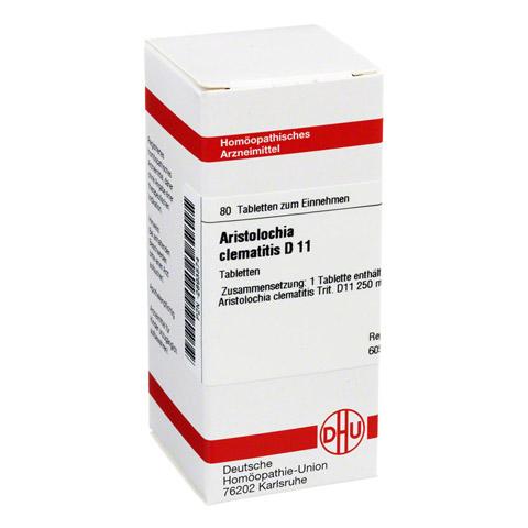 ARISTOLOCHIA CLEMATITIS D 11 Tabletten 80 Stück N1
