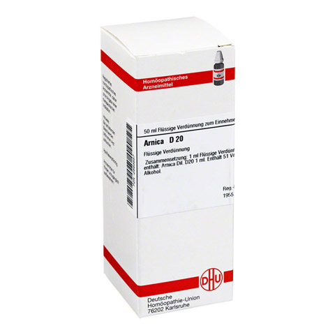 ARNICA D 20 Dilution 50 Milliliter N1