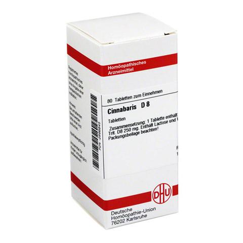 CINNABARIS D 8 Tabletten 80 Stück N1