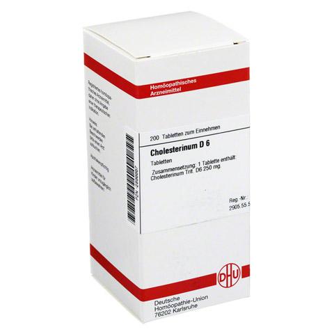 CHOLESTERINUM D 6 Tabletten 200 Stück N2