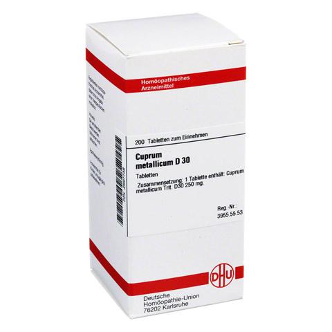 CUPRUM METALLICUM D 30 Tabletten 200 Stück