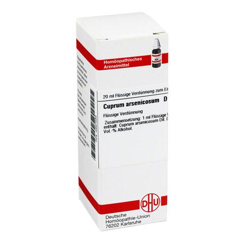 CUPRUM ARSENICOSUM D 6 Dilution 20 Milliliter N1