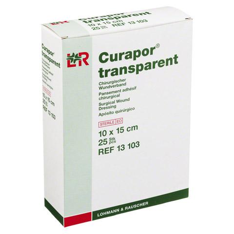 CURAPOR Wundverband steril transparent 10x15 cm 25 Stück