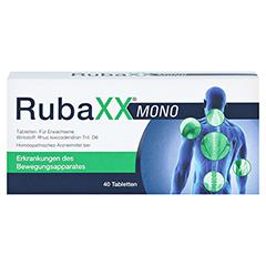 RUBAXX Mono Tabletten 40 Stück - Vorderseite