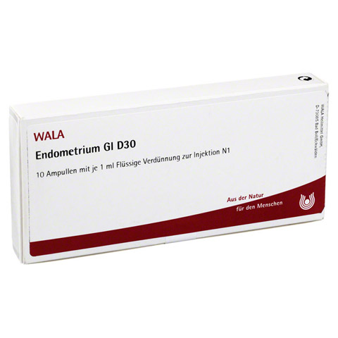 ENDOMETRIUM GL D 30 Ampullen 10x1 Milliliter N1