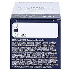 Dermasence Rosamin Emulsion 50 Milliliter - Unterseite