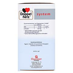 DOPPELHERZ Zink Depot system Tabletten 60 Stück - Linke Seite