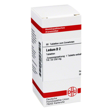 LEDUM D 2 Tabletten 80 Stück N1