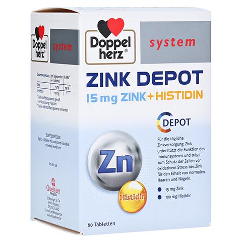 DOPPELHERZ Zink Depot system Tabletten 60 Stück