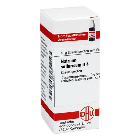 NATRIUM SULFURICUM D 4 Globuli 10 Gramm N1