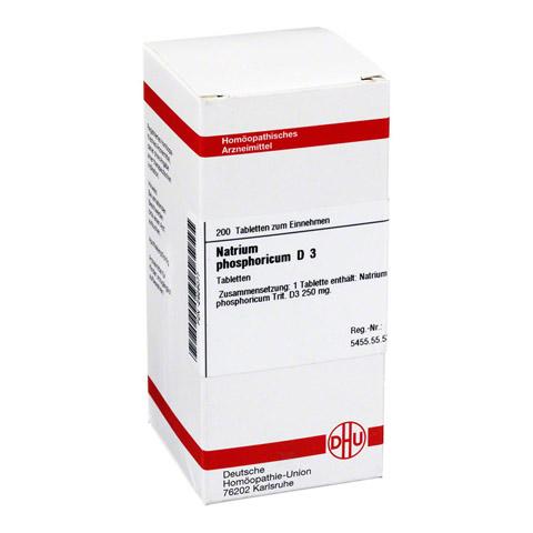 NATRIUM PHOSPHORICUM D 3 Tabletten 200 Stück N2