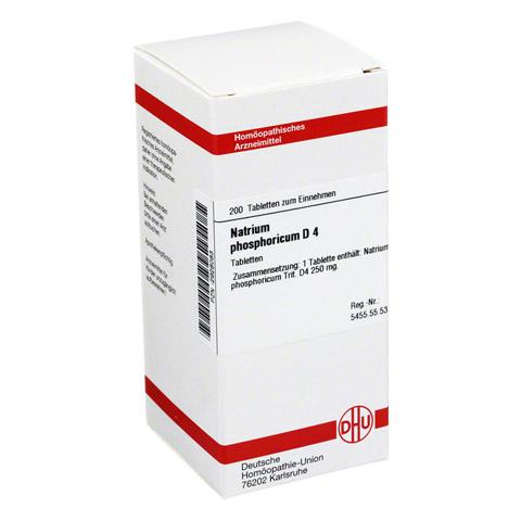 NATRIUM PHOSPHORICUM D 4 Tabletten 200 Stück N2