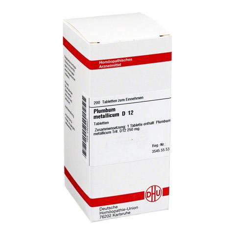 PLUMBUM METALLICUM D 12 Tabletten 200 Stück N2