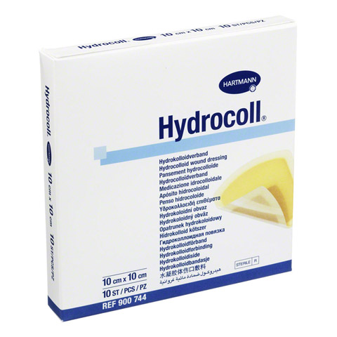 HYDROCOLL Wundverband 10x10 cm 10 Stück