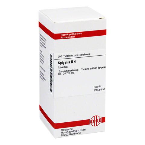 SPIGELIA D 4 Tabletten 200 Stück N2