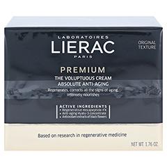 LIERAC Premium reichhaltige Creme 18 50 Milliliter - Vorderseite