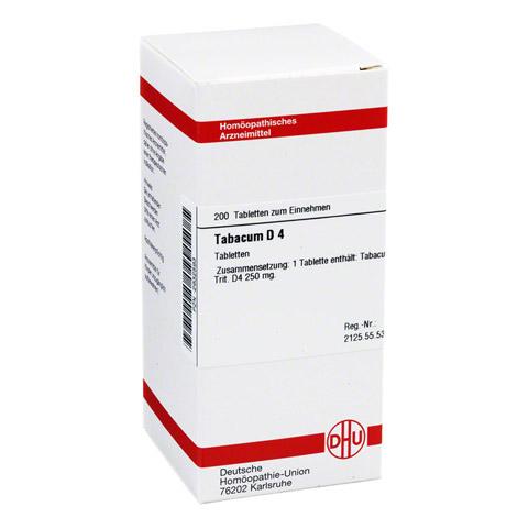 TABACUM D 4 Tabletten 200 Stück N2
