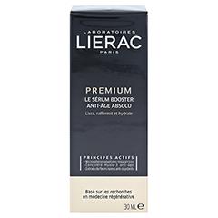 LIERAC Premium Serum Konzentrat 18 + gratis Lierac Kosmetiktasche 30 Milliliter - Rückseite