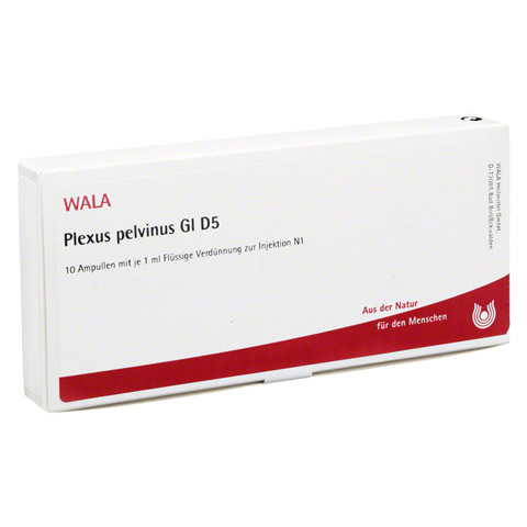 PLEXUS PELVINUS GL D 5 Ampullen 10x1 Milliliter N1
