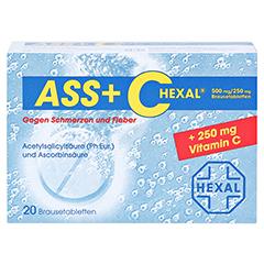 ASS+C HEXAL gegen Schmerzen und Fieber 20 Stück - Vorderseite