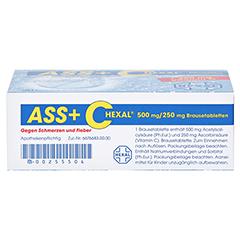 ASS+C HEXAL gegen Schmerzen und Fieber 20 Stück - Oberseite