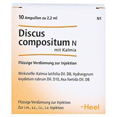 DISCUS compositum N mit Kalmia Ampullen 10 Stück N1 - Vorderseite