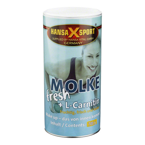 MOLKE FRESH mit L-Carnithin Vanille Pulver 700 Gramm