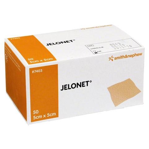 JELONET Paraffingaze 5x5 cm steril Peelpack 50 Stück