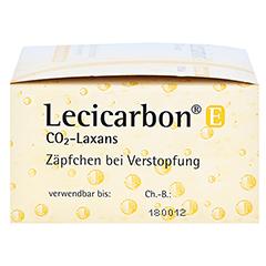 Lecicarbon E CO2-Laxans für Erwachsene 100 Stück - Rechte Seite