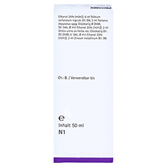 PHÖNIX URTICA arsenicum spag.Mischung 50 Milliliter N1 - Rückseite