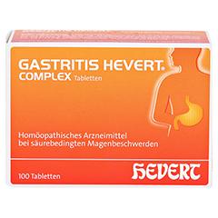 GASTRITIS HEVERT Complex Tabletten 100 Stück N1 - Vorderseite