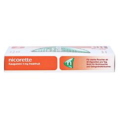 Nicorette 4mg freshfruit 30 Stück - Rechte Seite