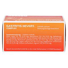 GASTRITIS HEVERT Complex Tabletten 100 Stück N1 - Unterseite