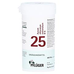 BIOCHEMIE Pflüger 25 Aurum chlorat.natron.D 6 Tab. 400 Stück N1