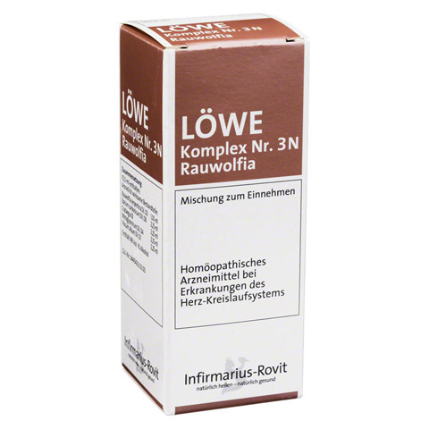 LÖWE KOMPLEX Nr. 3 N Rauwolfia Tropfen 50 Milliliter N1