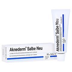 Aknederm Salbe Neu 30 Gramm N1