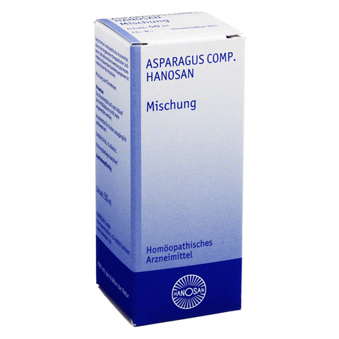 ASPARAGUS COMP.Hanosan flüssig 50 Milliliter