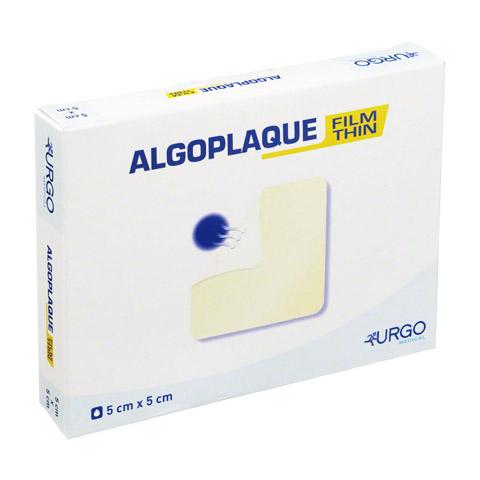 ALGOPLAQUE Film 5x5 cm dünn.Hydrokoll.Verband 10 Stück
