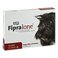 FIPRALONE 134 mg Lsg.z.Auftropf.f.mittelgro.Hunde 4 Stück
