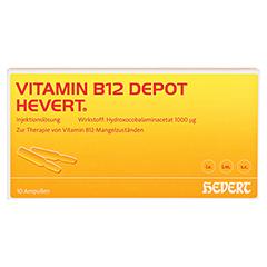VITAMIN B12 DEPOT Hevert Ampullen 10 Stück N2 - Vorderseite